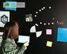 广州磁善家厂家供应尺寸可定制无尘黑板教学黑板贴磁性