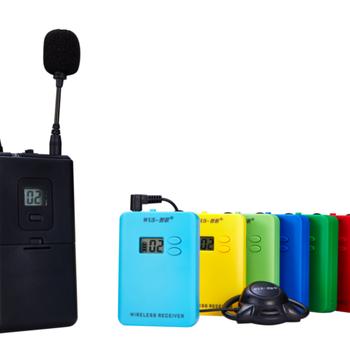 讲解器一对多无线解说器同声传译系统蓝牙耳机导游带团多人包邮