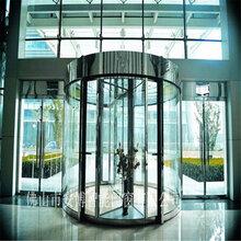 不锈钢自动旋转门设计专业旋转门生产厂家酒店旋转门生产图片