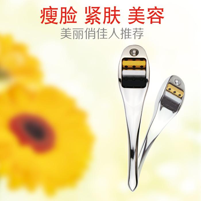 日韩热销勺子瘦脸按摩棒勺子型脸部按摩器瘦脸美容美颜棒