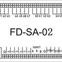 深圳富睿自动化控制单片机开发FP-SA-02单片机控制板