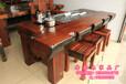 老船木茶桌椅组合中式客厅泡茶桌功夫茶艺桌简约实木家具船木茶几