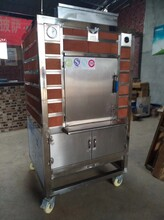 新疆果木牛排炉图片