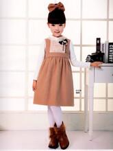 朵娜公主童装春季连衣裙品牌折扣货源图片
