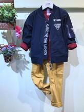 欧卡星童装棉衣羽绒服加厚外套童装尾货批发图片