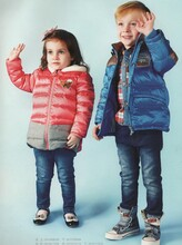青蛙王子童装冬季保暖加厚套装品牌折扣货源图片