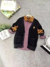 贝贝依依童装冬季保暖套装品牌折扣货源批发图片