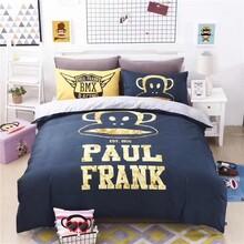 大嘴猴床上四件套品牌折扣货源批发图片
