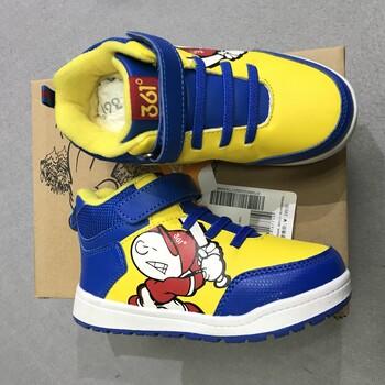 中国361度品牌鞋子童装批发市场