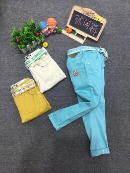 上海童装大童休闲裤品牌批发价格