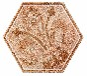 糖果釉套装炫丽花系列六角砖200x230瓷砖客厅餐厅厨卫地砖墙砖