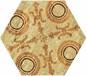 全国供应佛山厂家直销六角砖瓷质瓷砖糖果釉个性客厅卫生间地砖墙砖
