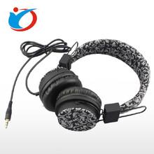 电脑耳机批发深圳耳机工厂头戴式布包电脑耳机独特风格重低音图片