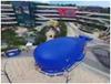 大型鲸鱼岛,户外娱乐鲸鱼岛,充气,百万海洋球