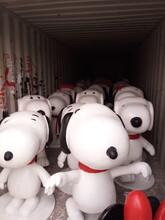 厂家低价直销玻璃钢卡通雕塑摆件玻璃钢熊猫哆啦A梦小黄人树脂低价出售