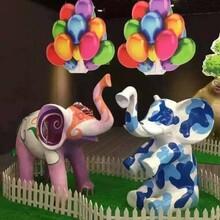 厂家低价出售玻璃钢卡通动漫雕塑摆件出售景区摆件出售租赁