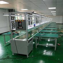 厂家供应广州流水线铝型材装配生产线多功能工作台流水线设备图片