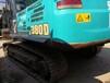 出售二手神钢380D挖掘机,车况好性能免检行家首选