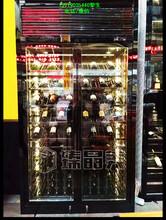 不锈钢酒柜,现代不锈钢恒温酒柜定制