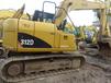 卡特312D挖机,精品土方车+送挖机配件一套+有手续