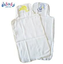 厂家促销儿童汗巾纯棉纱布宝宝吸汗巾四层柔软透气婴儿背巾OEM图片