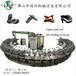 聚氨酯安全鞋/勞保鞋連幫一次成型機械PU涼鞋沙灘鞋發泡制造機械