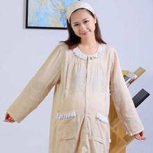 济南尤淇制衣直销纱布孕妇裙图片