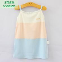 济南尤淇制衣新款孕妇竹纤维拼色吊带裙图片