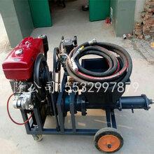 柴油动力喷涂机新款高压柴油砂浆喷涂机快速砂浆石膏喷涂机抹墙机