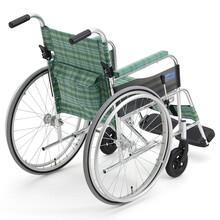 日本MIKI三贵LS-1轮椅超轻轮椅轻便的大轮手动轮椅