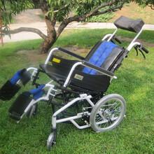 日本MIKI三贵MP-TI可躺功能型轮椅座位角度可调豪华护理型轮椅