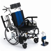 日本MIKI三贵TR-1(R)豪华护理型轮椅原装进口多功能轮椅航太铝合金保固5年