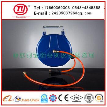 天意自动伸缩卷轴水鼓卷管器水管卷轴pu聚醚夹砂管