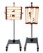 天意烤漆机烤漆灯移动式烤灯三头烤灯汽车烤灯红外线加热灯