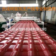 PVC+ABS琉璃瓦生产线,青岛合成树脂瓦设备图片