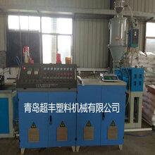 HDPE大口径中空壁缠绕管生产线,PE缠绕管设备,PE排水管设备图片