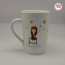 热销创意陶瓷变色杯卡通马克杯日用百货批发杯子