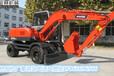 山东胶轮挖掘机多少钱