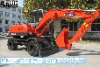 山东轮式挖机多少钱