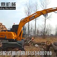 广西南宁抓木机销售咨询-宝鼎品牌抓木机厂家直销图片