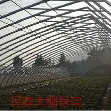 详细解说蔬菜大棚几字钢骨架的结构构造图片