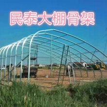 几字钢骨架双膜大棚骨架温室种植大棚主打产品图片