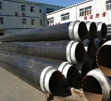 8710保温管道,钢套钢保温管道,环氧煤沥青防腐管道,环氧树脂防腐管道图片
