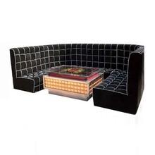 厂家尺寸定制酒吧弧形卡座沙发KTV沙发卡座餐厅卡座众美德