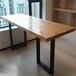 美式星巴克高脚吧椅创意铁艺实木吧台桌咖啡厅餐桌椅组合定制厂家众美德