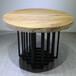 众美德厂家专业定制餐厅餐桌椅,实木家具,工业风实木桌椅