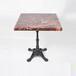 深圳厂家众美德供应优质的大理石餐桌,石英石方桌,快餐厅餐桌,大理石桌面