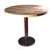 港式实木茶餐厅实木桌,奶茶店实木圆桌,休闲餐厅实木桌,实木餐桌厂家定制