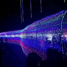 灯光展览灯光造型布展商业街区美景打造光与美景象