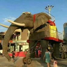 商业巡游大象设备展览租赁高端机械大象出租巡游项目